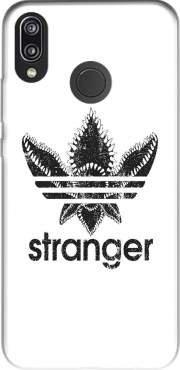 Mobilinnov Custodia in Silicone TPU Protettiva Case Cover per Huawei P20 Lite - Stranger Things Demogorgon Monstre Parodie Adidas Logo Serie TV - Case Accessori
