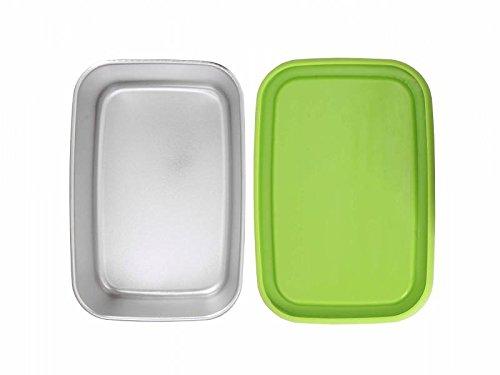 ECOtanka pocketbox 650ml, Edelstahl-Brotdose, sehr robust & langlebig - Ideal für Kinder