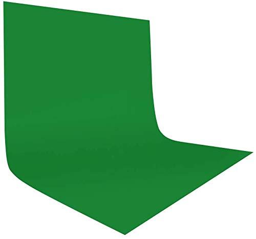 UTEBIT Fotografie Hintergrund Grun 10x10FT / 3x3m Faltbare Fotostudio Kamera Hintergrundstoff 100% Reines Polyester Background White für Hintergrundstand,Foto-Videofotografie und TV