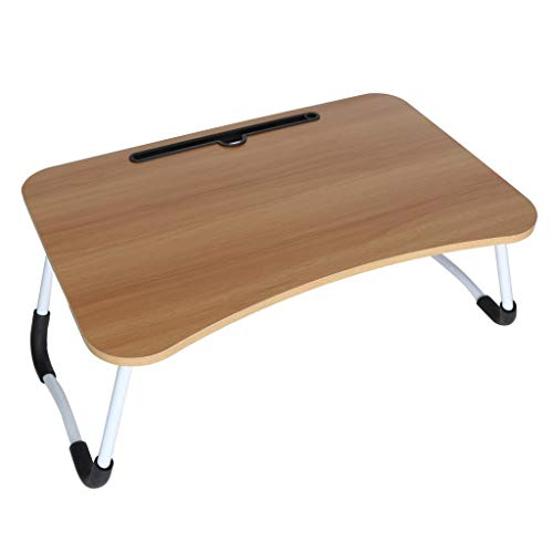 Buy Discount BEARply Foldable Portable Laptop Desk , Home Bedroom Multifunction Desk for Breakfast T...