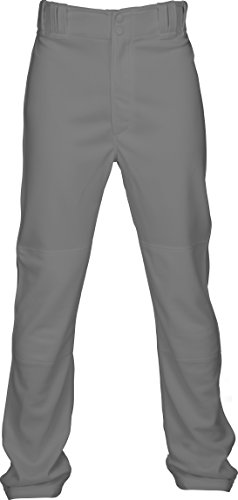 Marucci Youth Elite Double Knit Baseball Pant, Gray, Large