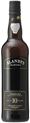 Madeira Wine Company Blandy's Madeira Verdelho MEDIUM DRY 10 Years Old 0.50 Liter