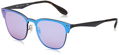 Ray-Ban Unisex-Erwachsene 3576n Sonnenbrille, Schwarz (Demi Glos Black), 41