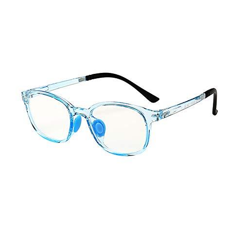 Kids Computer Glasses - Kids Anti Blue Light Brille für Kinder ab 4 Jahren. Entspiegelt, entspiegelt - Tablet/Smartphone / Computer/TV / UV-Schutz