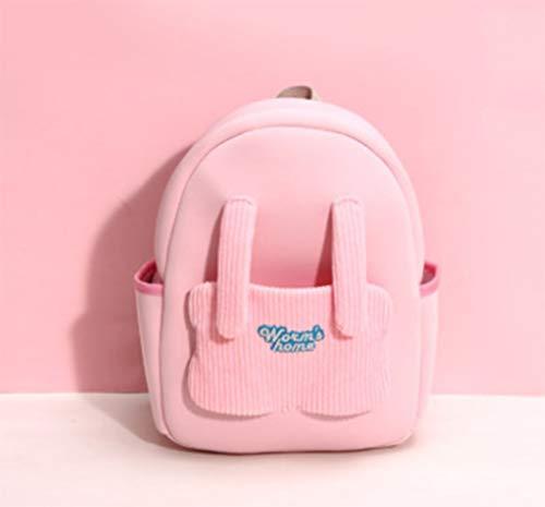 LIUHUIJUN Libro para Niños Kindergarten Girl Baby Baby Bebé Bebé Bebé Hombro Mochila Multi-Color Pink-A-Small
