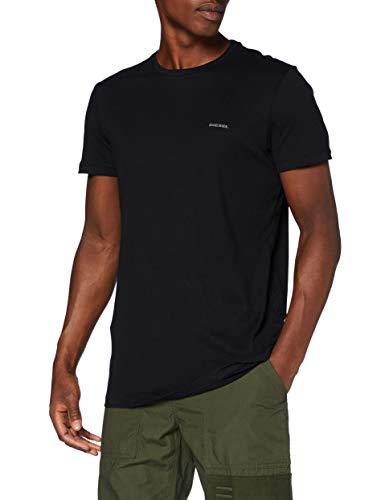 Diesel Herren Unterhemd UMTEE-JAKETHREEPACK (3er Pack), Schwarz (Black), XL
