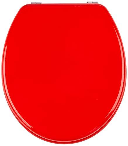 Wenko 152201100 Abattant Prima Rouge Brillant MDF
