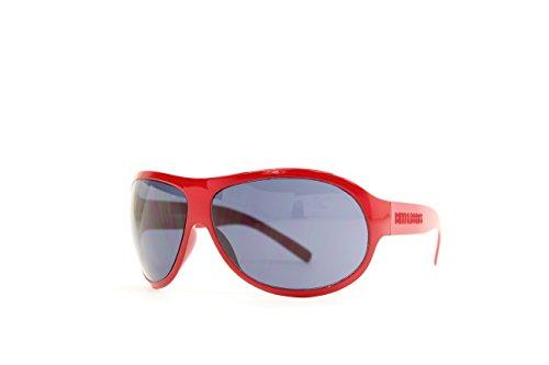Bikkembergs BK-52502 Gafas de Sol, Rojo, 68 Unisex