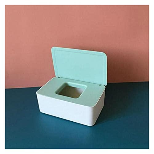 YQwind Soporte para Caja de pañuelos Nueva Caja de Tejido de plástico Topes de Tejido húmedo Toallitas Papel Papel Papel Caja de Almacenamiento Papel Toalla Dispensador Inicio Empkin Organizador