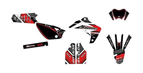 Kit de decoración para motocross RIEJU MRT 50 Comics Rojo