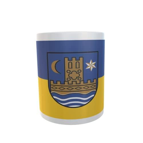 U24 Tasse Kaffeebecher Mug Cup Flagge Schleswig