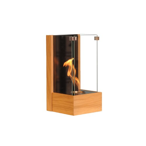 Fantastic Prices! RGE Designs Wall Mounted Ethanol Fireplace, 20 x 23 x 40 cm, Oak