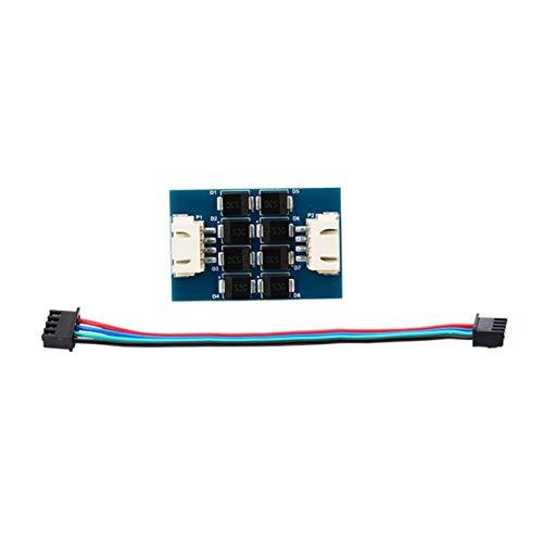 Heaviesk TL-Smoother V1.2 Filter Motor Filtering Vibrationseliminator mit Verbindungskabel für Treiber 3D-Drucker