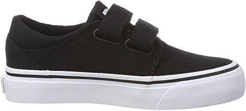 DC Shoes Jungen Pure High SE Sneaker, Schwarz (Black/White), 21.5 EU