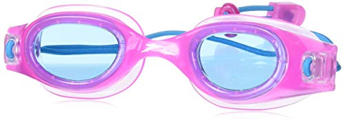 Speedo Unisex-child Swim Goggles Hydrospex Bungee Junior Ages 6-14 , Fuchsia/Cobalt