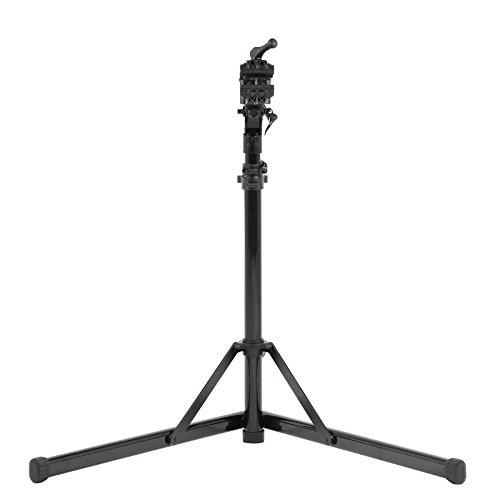 Contec Fahrrad Montageständer eBike Set Rock Steady, Traglast: ca. 30 kg, Klemme 360° rotierbar, (H/B/T) ca. 100x104x82 cm (Aufgebaut) inkl. Werkzeugschale - 2