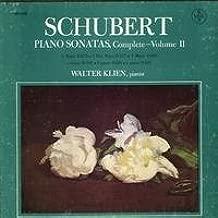 Franz Schubert: Piano Sonatas, Complete - Volume II ~ Walter Klien, Piano ~~ Vox Box SVBX 5466