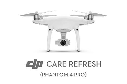 DJI Care Refresh Card para Phantom 4 Pro/Pro+ - Garantía 12 Meses, Seguro para EU, Color Blanco