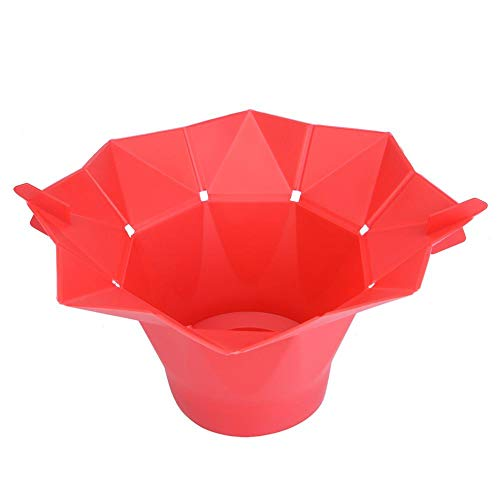 Fantastic Prices! Microwave Popcorn Popper, Akozon Magic Silicone Popcorn Maker Fold Bucket Bowl DIY...