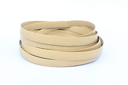 ODSK Kit de fijación de muebles de ratán, material de reparación de mimbre, material de plástico plano de color caqui para instalar muebles de ratán y sillas de jardín cesta, 500 g (Kaki)