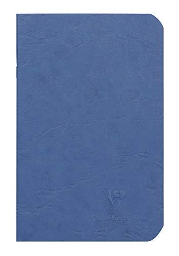 Clairefontaine 734104C - Cuaderno interior liso, 96 páginas, color azul