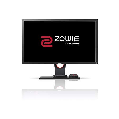 BenQ ZOWIE XL2430 60,96 cm (24 Zoll) e-Sports Gaming Monitor, (Höhenverstellung, S Switch, Black eQualizer, 1ms Reaktionszeit, 144Hz) grau