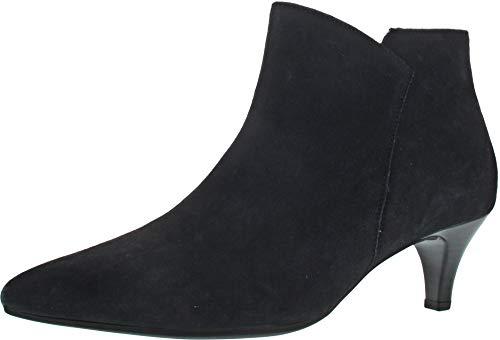 Gabor 35-830 Damen Stiefel Stiefeletten Leder, Schuhgröße:40 EU, Farbe:Blau