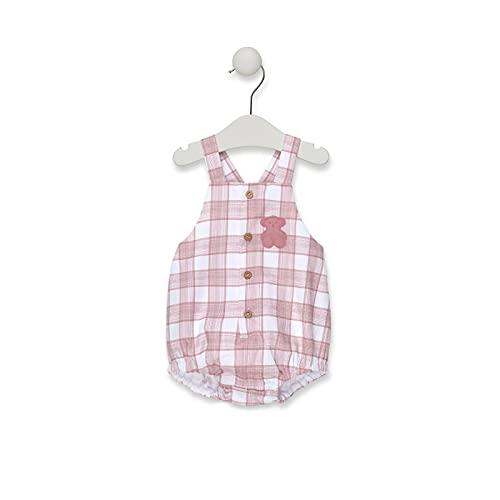 TOUS BABY - Ranita de Tirantes para tu Bebé. Estampado Pink. Color Coral (1/3M)