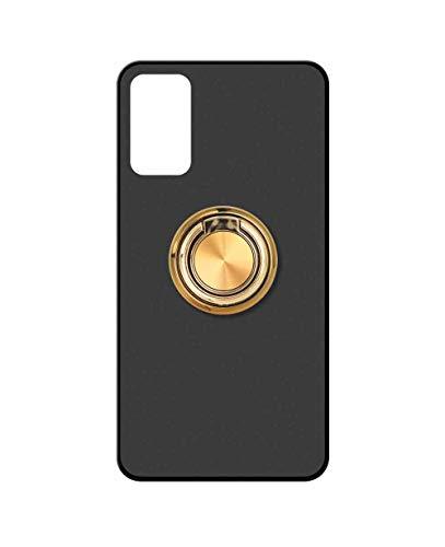 Sunrive Funda para CUBOT Note 7, Silicona Mate Gel Carcasa Case Bumper Anti-Arañazos Espalda Cover Anillo Kickstand 360 Grados Giratorio(A2 Dorado) + 1 x Lápiz óptico