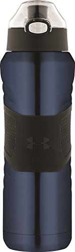 Under Armour Dominate 24 Ounce Stainless Steel Water Bottle, Indigo