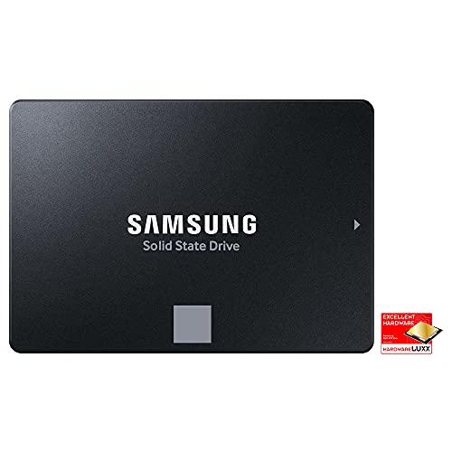 Samsung SSD 870 EVO - Disco duro interno de estado sólido, 2 TB, SATA 560 MB/s, 2,5', Negro