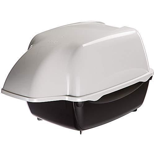 Ferplast Maison de Toilette d'extérieur pour Chats Cosmic Outdoor Litière Couverte/Preuve de Pluie/Empêche l'Entrée des Chiens1 Unité