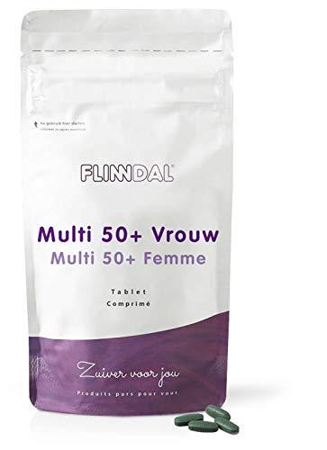 Flinndal - Multi 50+ vrouw - 90 tabletten