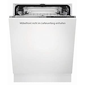 AEG FSB52600Z Fully Integrated 13places A++ Dishwasher – Dishwasher (Fully Integrated, White, Full Size (60 cm), Grey, Buttons, Cold, Hot)
