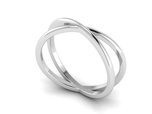 cris cruzado anillo de bodas 925 mujeres joyas de plata (20)