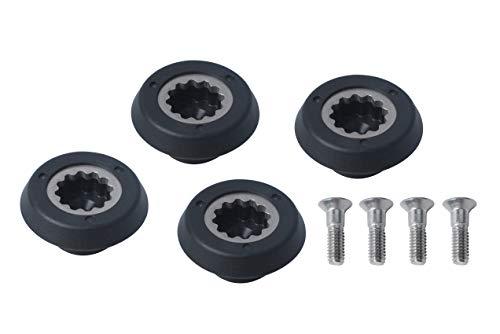 Drive Socket Kit For Nutri-Bullet Blender RX 1700W Replacement Professional Juicer Base Gear Metal Accessories (4 - Packs)
