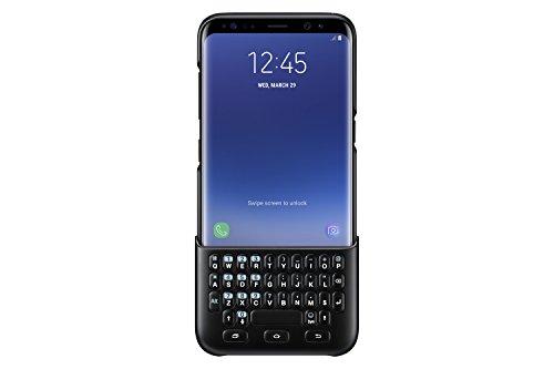 Samsung Mobile EJ-CG950BBEGWW Galaxy S8 Cover con Tastiera, Nero
