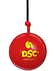 كرة كريكيت قابلة للتعليق من دي اس سي، لون احمر