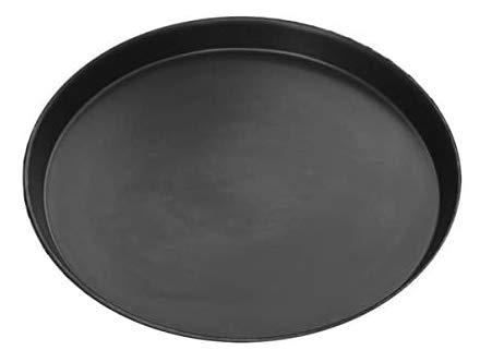 Moesta-BBQ 10087 – Pan-American Pizzablech Rund - 32cm Durchmesser – Pizza-Pfanne aus Blaublech für Backofen und Grill