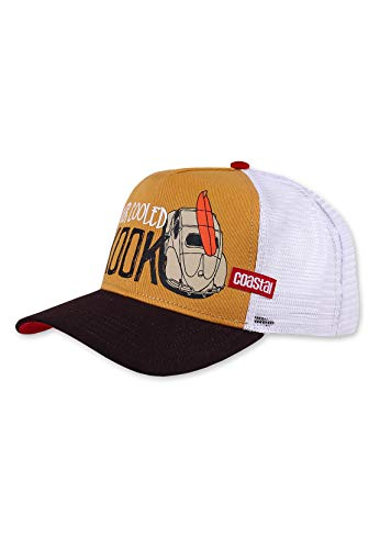 Coastal - Air Cooled (Mustard/Brown/White) - High Fitted Trucker Cap