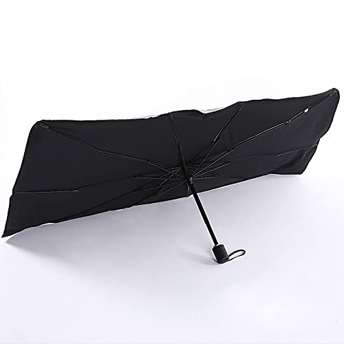 Parasol para Parabrisas - Bloquea Los Rayos UV Parasol Protector para Visera para Mantener Su VehíCulo Fresco Y Libre De DañOs Se Adapta A La MayoríA De Los Parabrisas