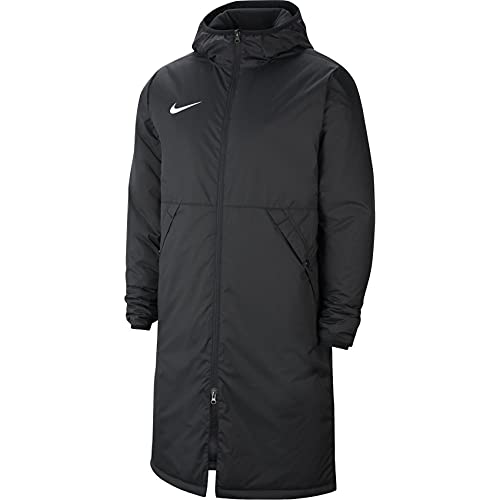 NIKE Team Park 20 Winter Jacket Chaqueta Deportiva, Blanco/Negro, M para Hombre