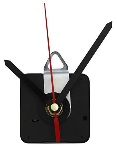 MC POWER - Quarzuhrwerk | CQ-5004 | inkl. 3 verschiedenen Metall-Zeigersätzen, springend | flexibel einsetzbar. kann vorhandes Uhrwerk ersetzen oder für die kreative Gestaltung eigener Ziffernblätter verwendet werden | perfekt zum basteln