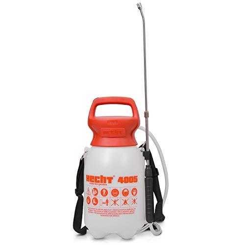Preisvergleich Produktbild Hecht Drucksprühgerät 4005 Drucksprüher Unkrautspritze (5 Liter Behälter Schultertragegurt)