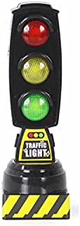 MYLOVE Singing Traffic Light Toy Traffic Signal Model Road Sign Suitable For Brio Train Children Track Series Toy Accessor...