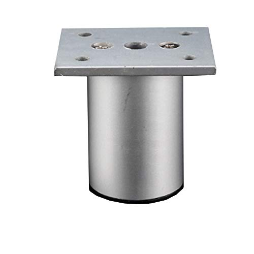 aluminiumlegering, verstelbare poten met cilindrische hoogteverstelling voor meubelvoeten, voetensteun, meubelpoten (slechts een). 25cm