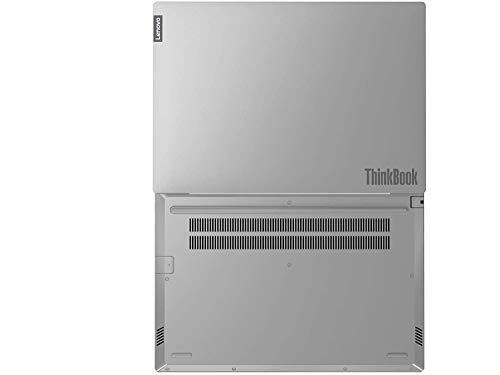Lenovo ThinkBook 14 Intel Core i3 10th Gen 14-inch Full HD Thin and Light Laptop (4GB RAM/ 1TB HDD/ DOS/ Mineral Gray/ 1.49 kg), 20SL00LUIH