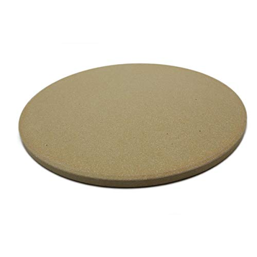 SANTOS Pizzastein für Backofen & Grill, Rund, Ø 26 cm