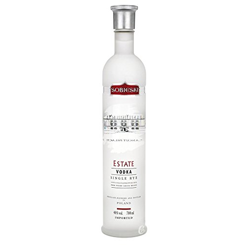 Sobieski Single Rye Estate Vodka 0,7l 40%
