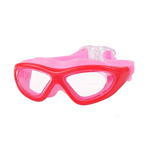 YWSZJ Gafas de natación Ajustables Piscina de natación Profesional Gafas Impermeable Silicona Óptico Electroplate Swim Gafas para niños Adulto (Color : B)